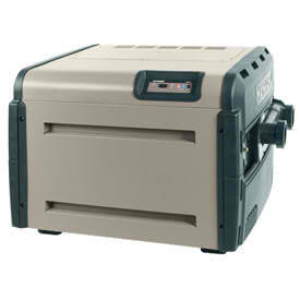 Hayward Universal H-Series pool and spa heater.