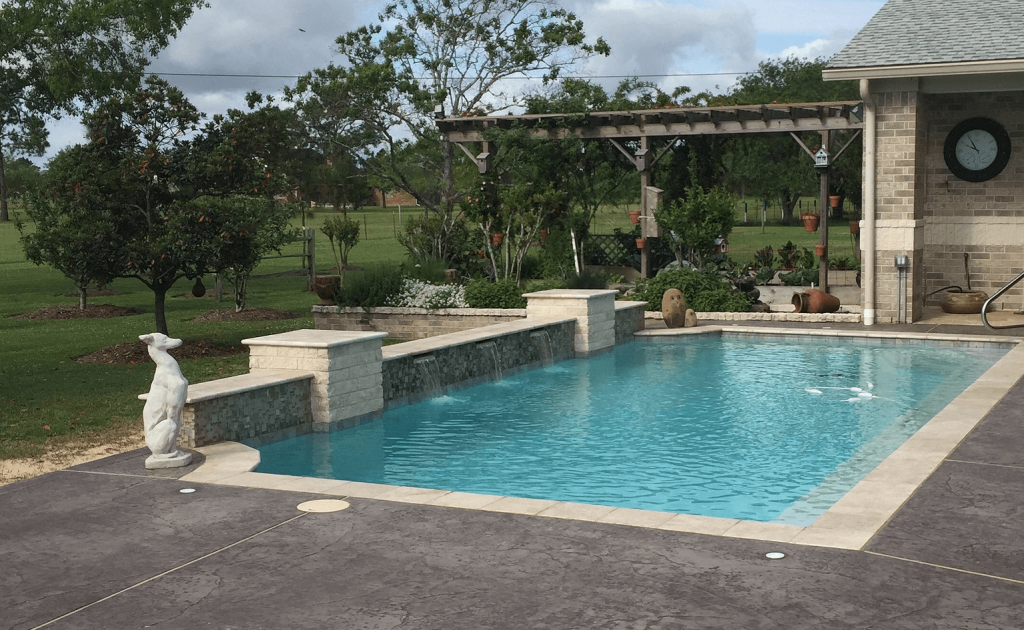 Elite Pools And Spas Clear Lake Water Features League City Pool