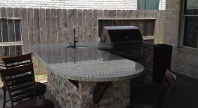 Patio Cover and Outdoor Kitchen