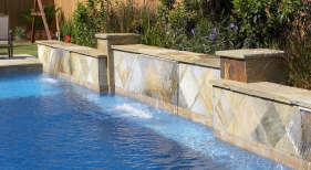 Geometric Pool with Sheer Descent