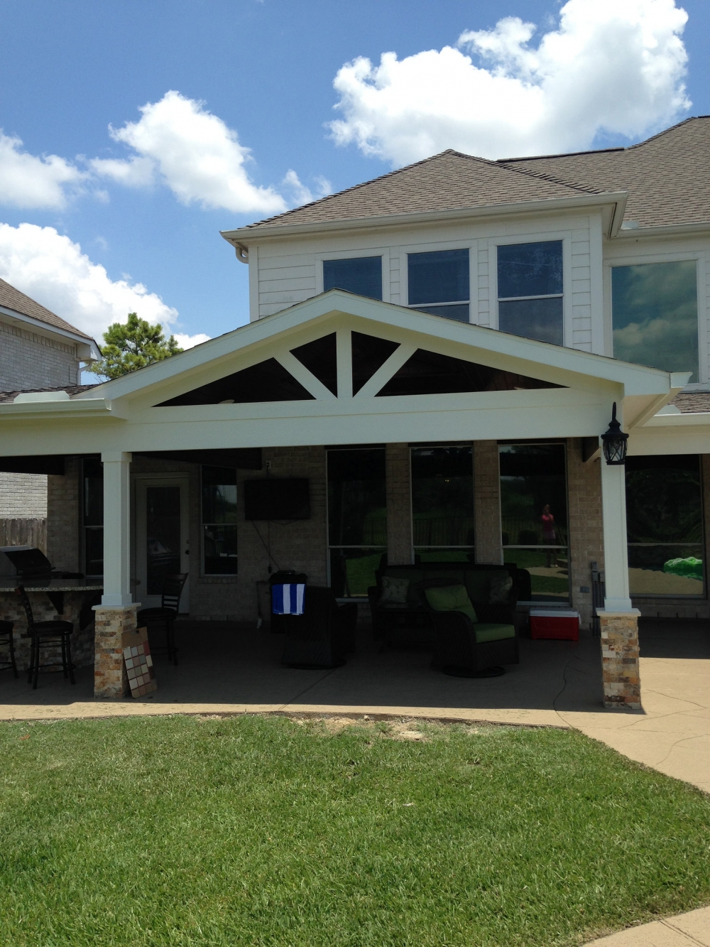 Outdoor Living Gallery League City | Houston Swimming Pool ... on Elite Pools And Outdoor Living id=71329