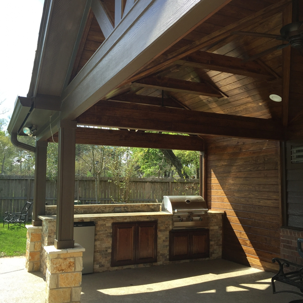 Outdoor Living Gallery League City | Houston Swimming Pool ... on Elite Pools And Outdoor Living id=42193