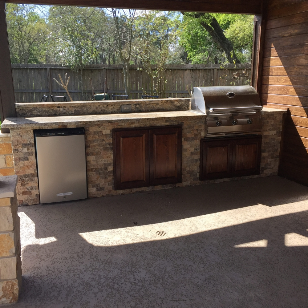 Outdoor Living Gallery League City | Houston Swimming Pool ... on Elite Pools And Outdoor Living id=60753