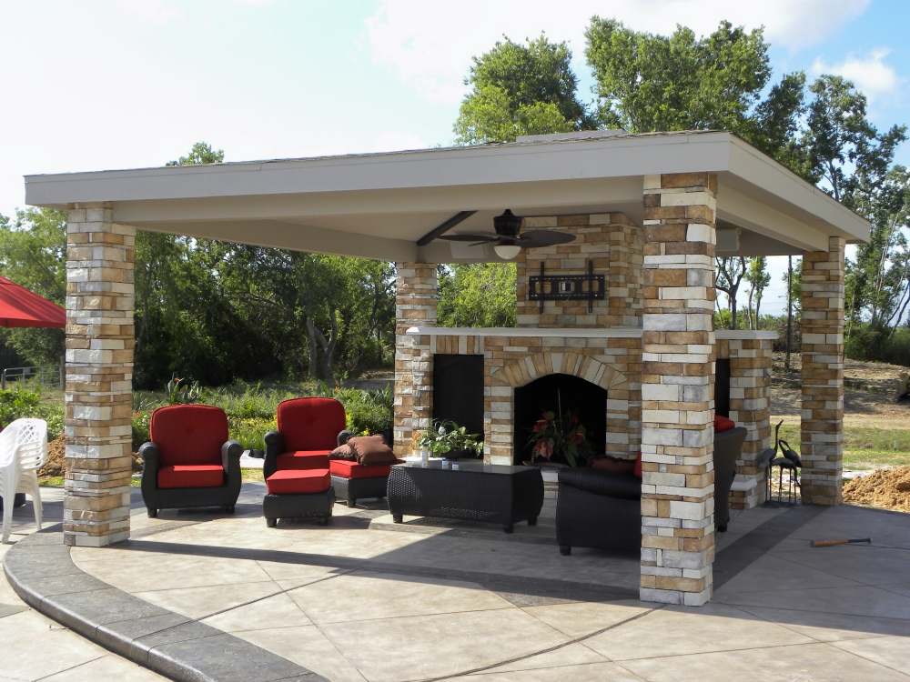 Outdoor Living Gallery League City | Houston Swimming Pool ... on Elite Pools And Outdoor Living id=54002