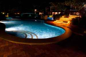 Brighten Up Your Outdoor Living Space with These Pool Lighting Options | Elite Pools Houston Texas