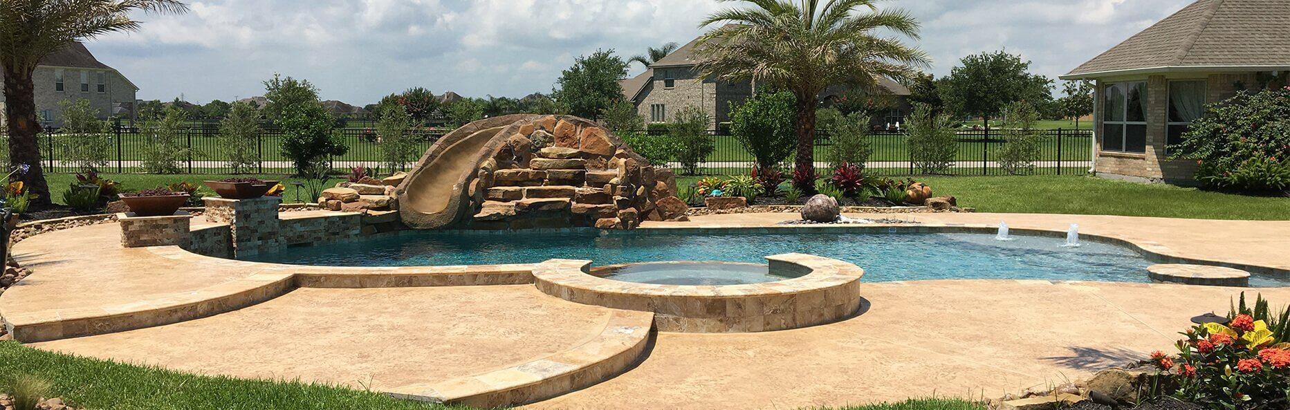 Pool Builder Houston League City
