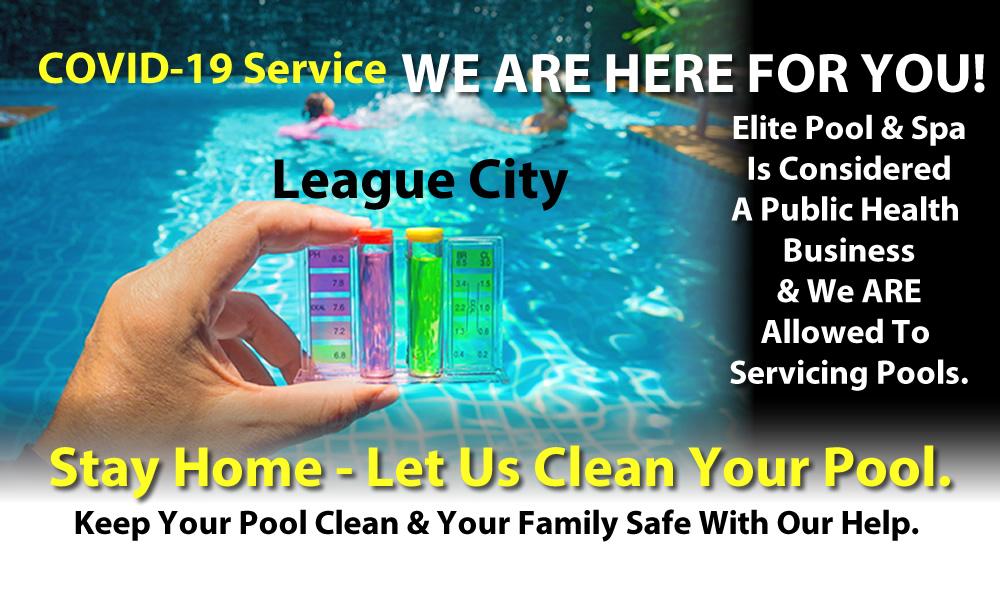 Continued Covid-19 Pool Service – League City