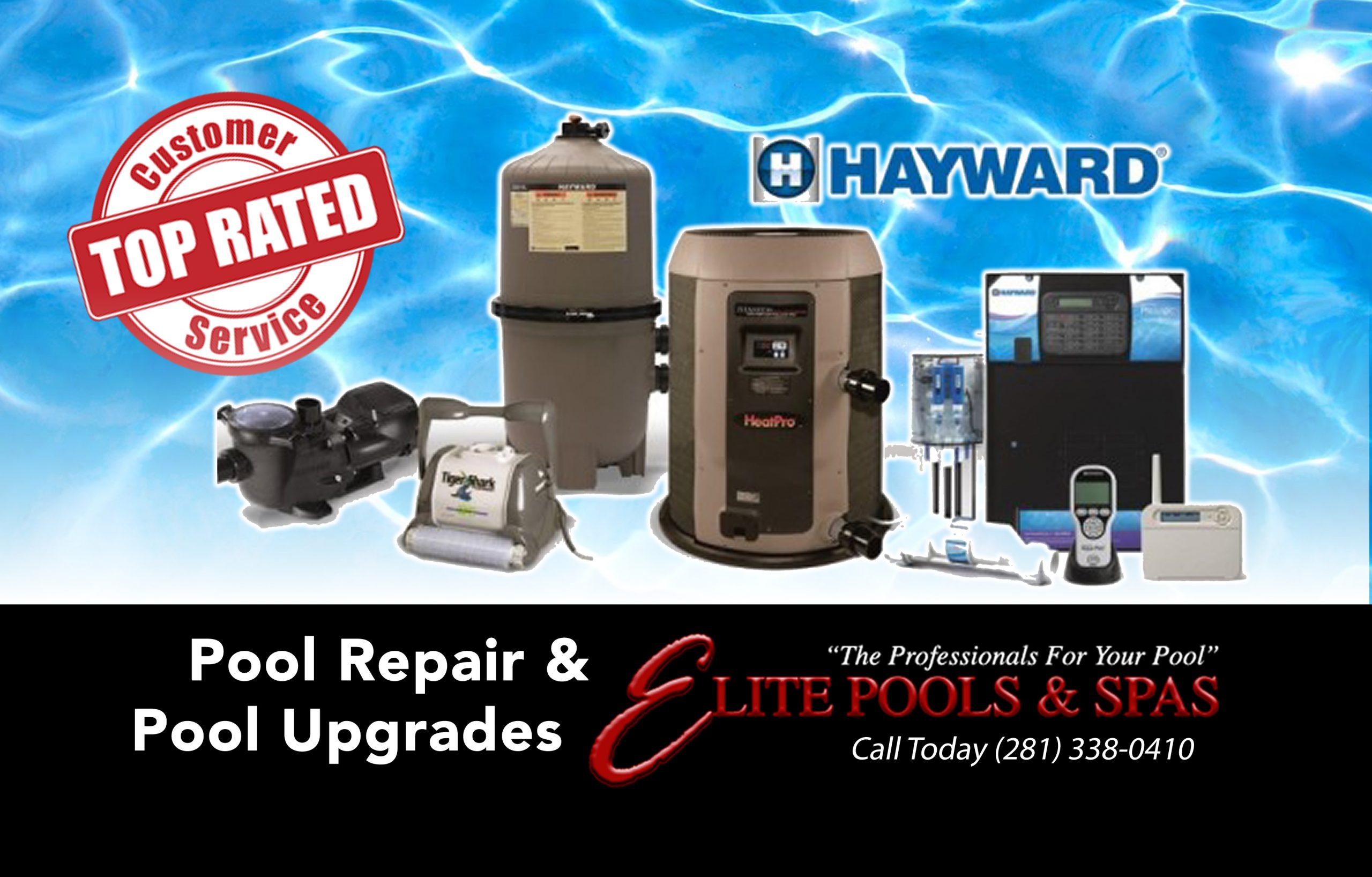 Only the Best from Hayward Pool Products