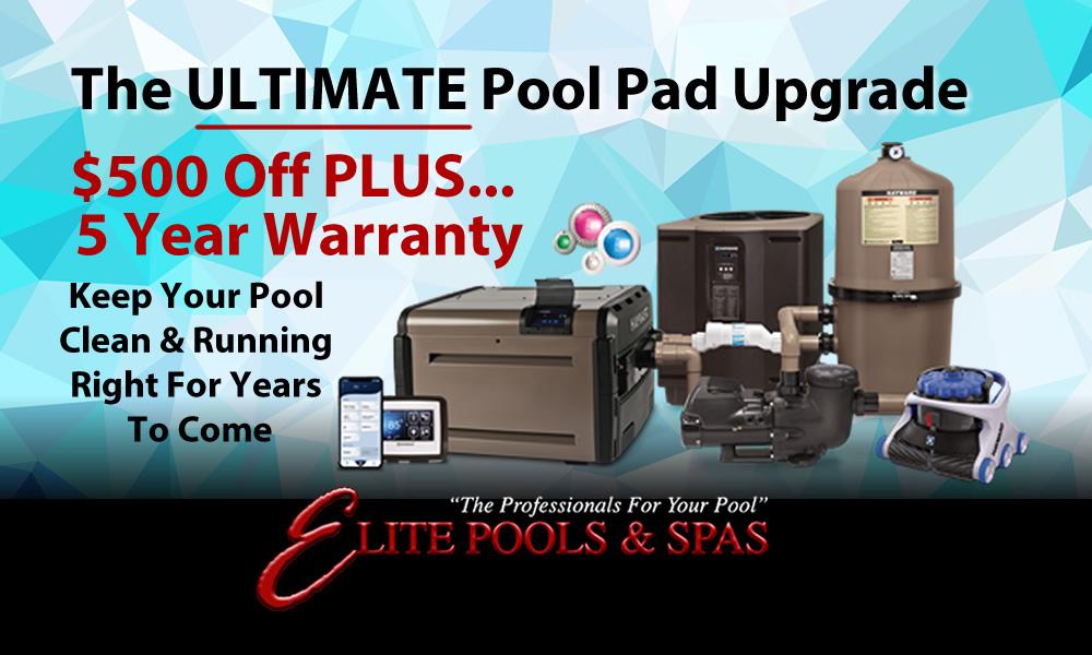 $500 Off… Plus, 5 Year Warranty